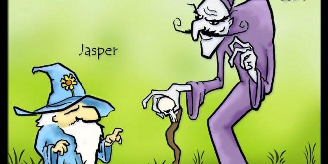 Jasper and Zot и Escape of the Dead – Безплатни игри за принтиране