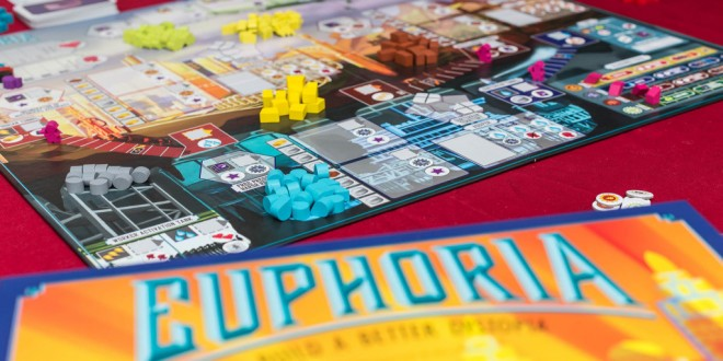 Euphoria – настолна игра в шарена дистопия