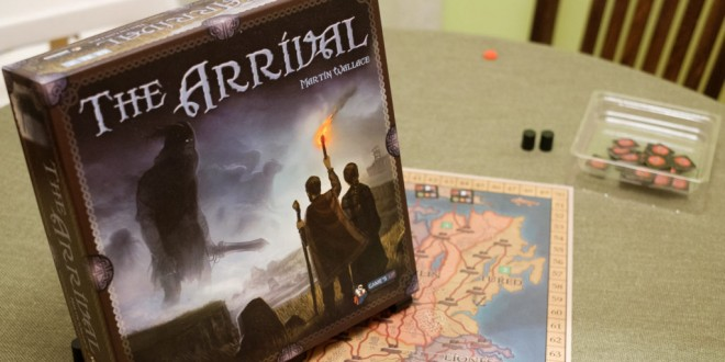 "The Arrival – ""механичното"" чудо на Martin Wallace"