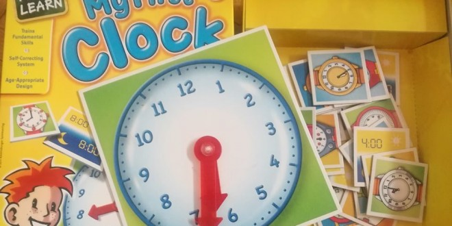 My First Clock – У дома часовник трака…