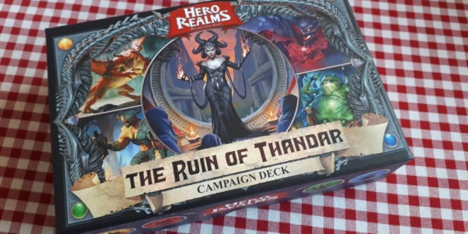 Hero Realms: The Ruins of Thandar and Boss Decks