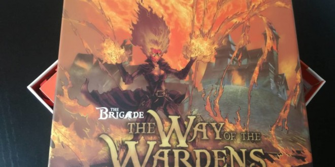 The Way of the Wardens – модулно разширение за The Brigade
