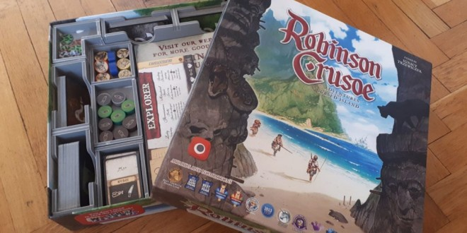 Folded Space – Robinson Crusoe Insert