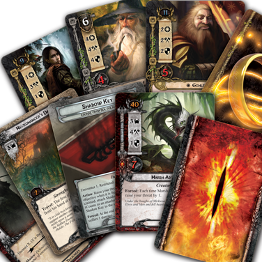 Lord of the Rings: Living Card Game(LCG) – интро