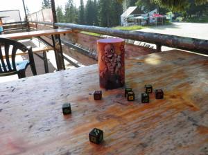 Zombie dice на хижа Алеко
