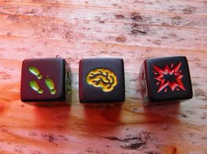 Zombie dice символи