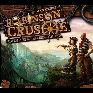 Robinson Crusoe: Adventure on the Cursed Island – unboxing