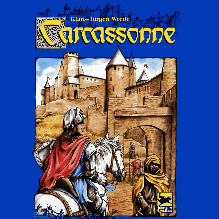 Carcassonne – полянки, пътища и крепости …