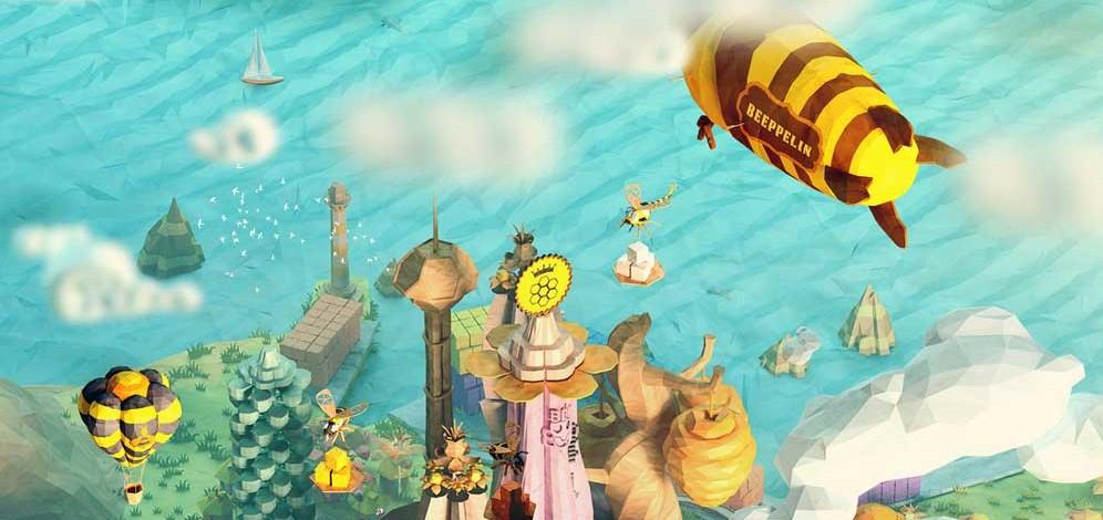Waggle Dance – настолна игра за птичките и пчеличките
