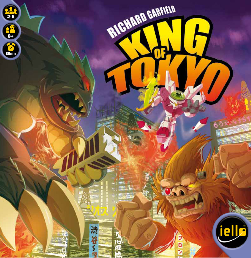 King of Tokyo – наточете си ноктите и зъбите!