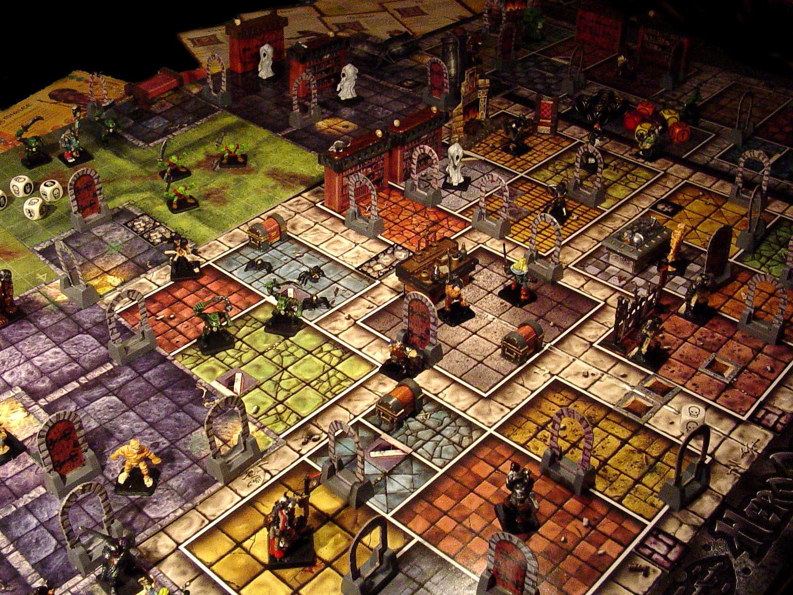 Игри с тъмници (dungeon crawl games)