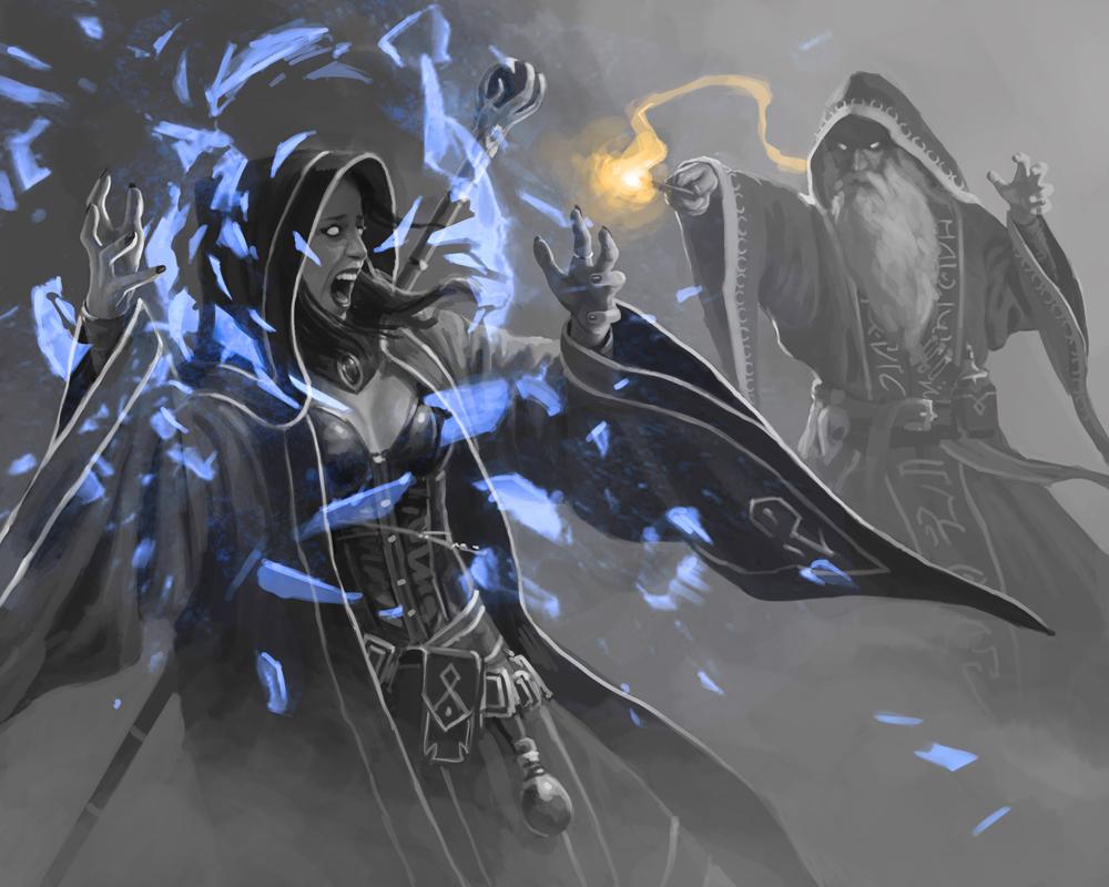 Mage Wars – дуел между магьосници … сериозно!