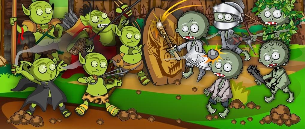 """Goblins vs Zombies – лека игра тип """"Tower Defense"""""""