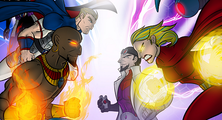 Sentinel Tactics: Flame of Freedom – шамари между супергерои