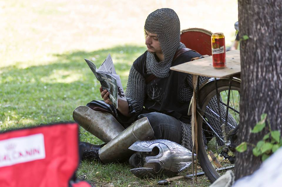 И рицарите четат нашето списание.