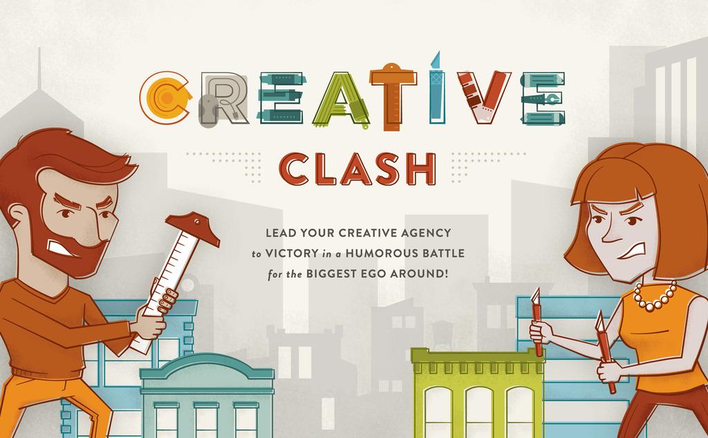 Creative Clash – игра, в която подхранвате егото си