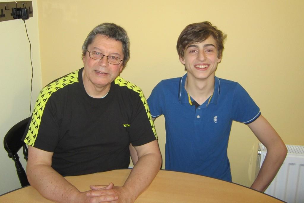 Баща и син Бърлеви.