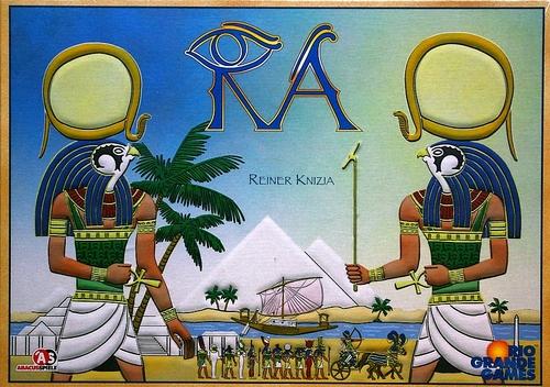 Ra - една от най-добрите игри с наддаване