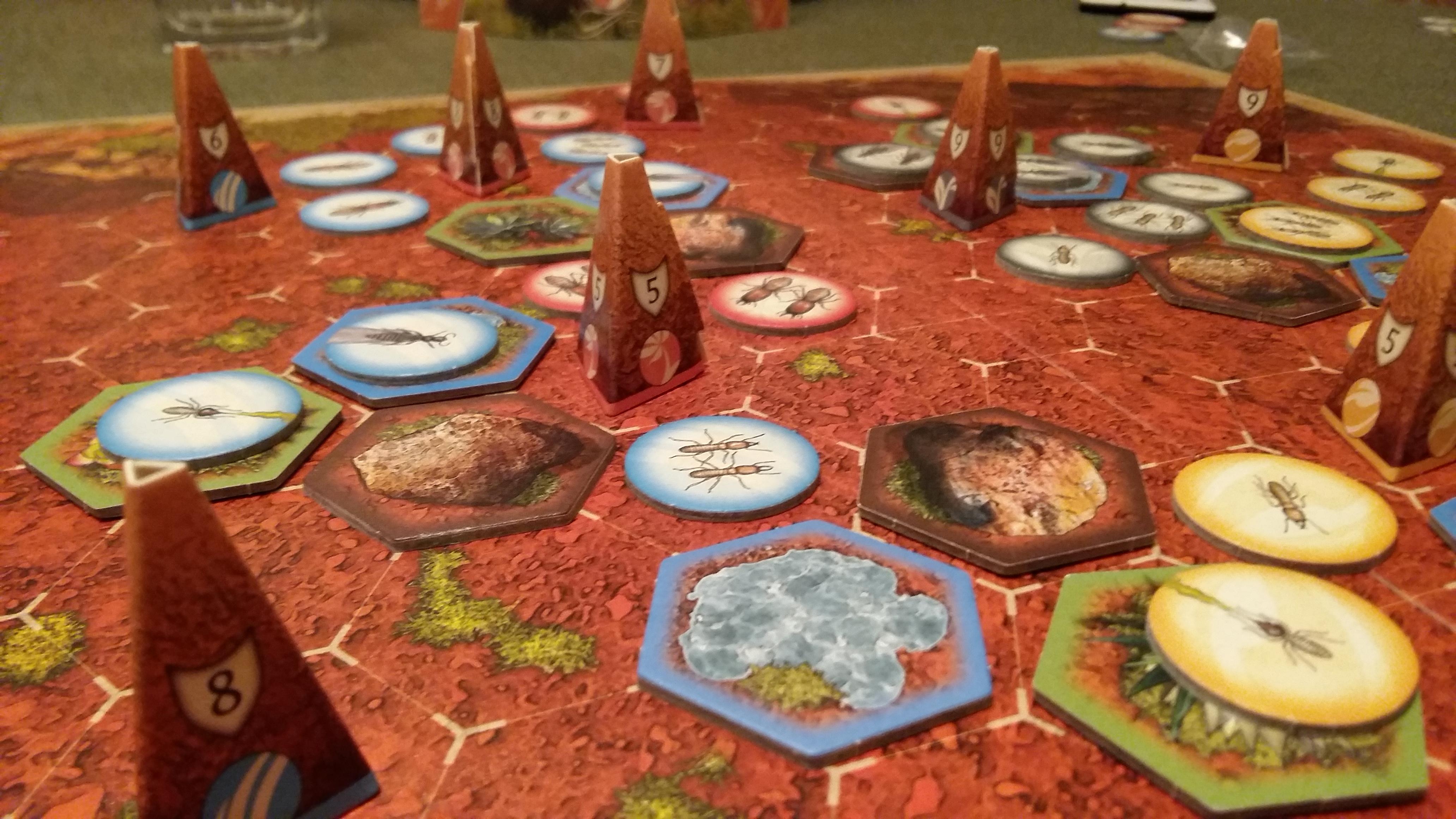 Termity – военна настолна игра с термити!