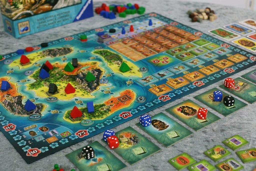 Bora Bora - само Стефан Фелд може да съчетае толкова шарена игра с... шарени механики