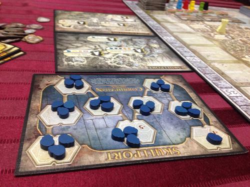 Разширението на Lords of Waterdeep освен черепи за корупция вкарва нови, по-добри лордове.