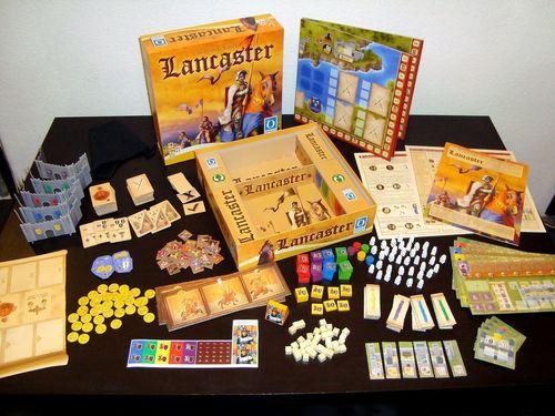 Lancaster - много игра в кутията - тежка кутия.