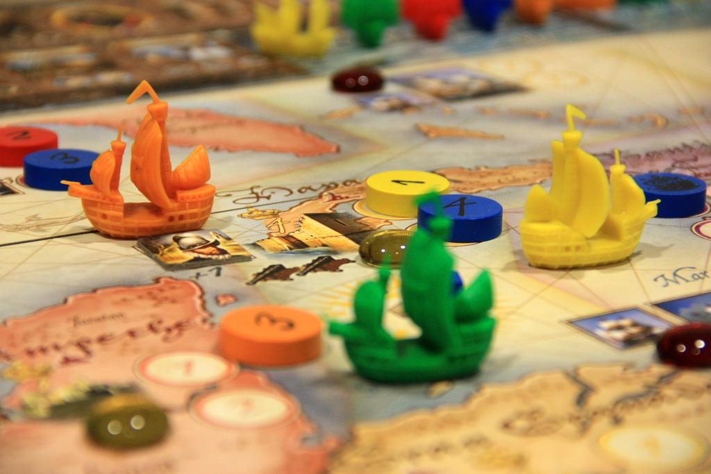 Топ 5 пиратски настолни игри