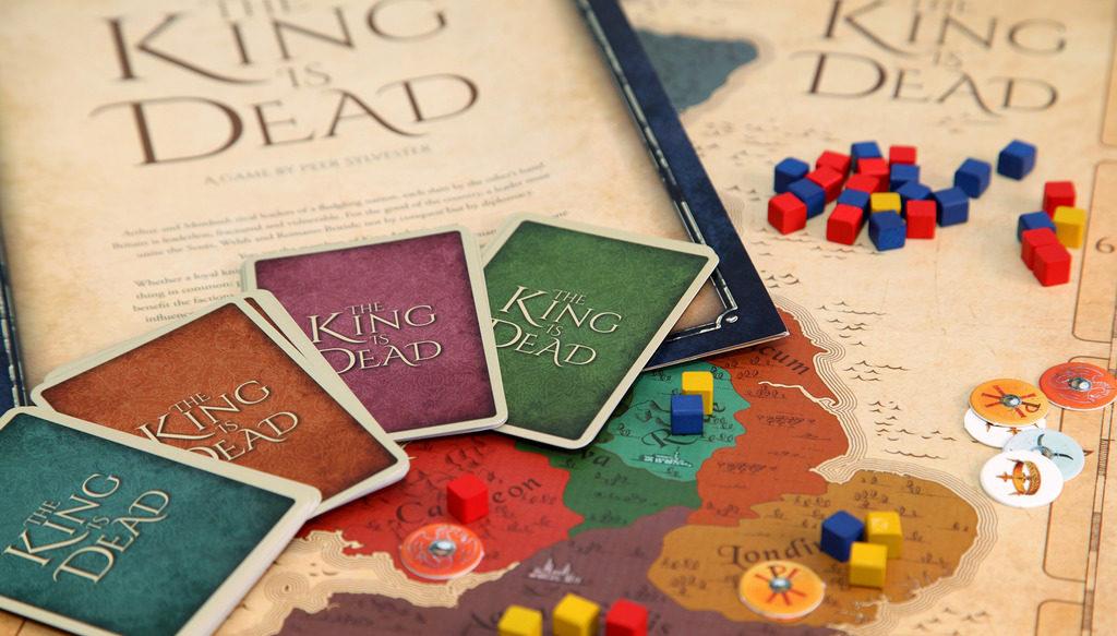 The King is Dead – светкавична евро игра, и то без точки