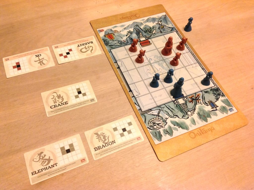Onitama - модерният шах