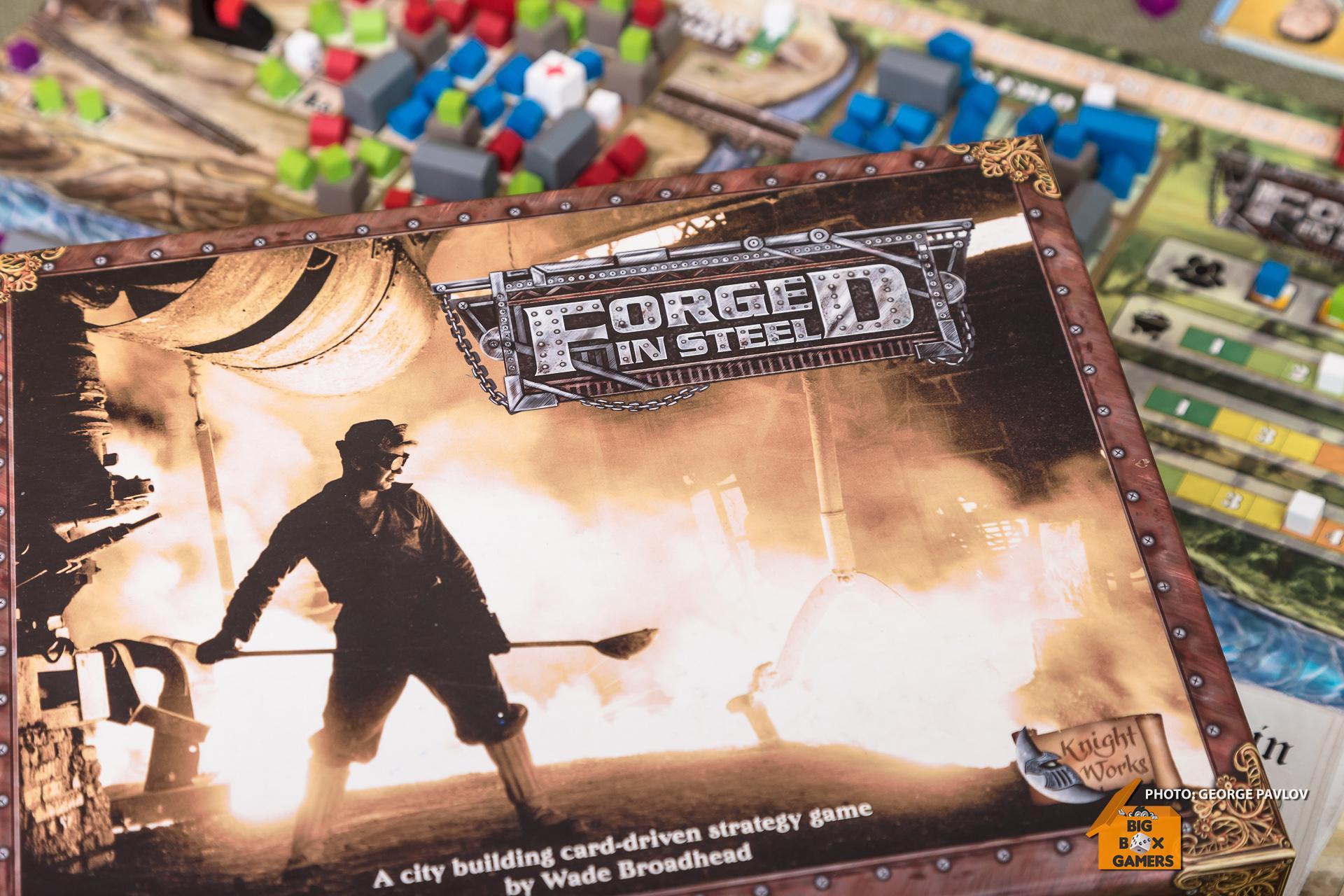 Forged in Steel – Поточна линия от мини, фабрики и мафии