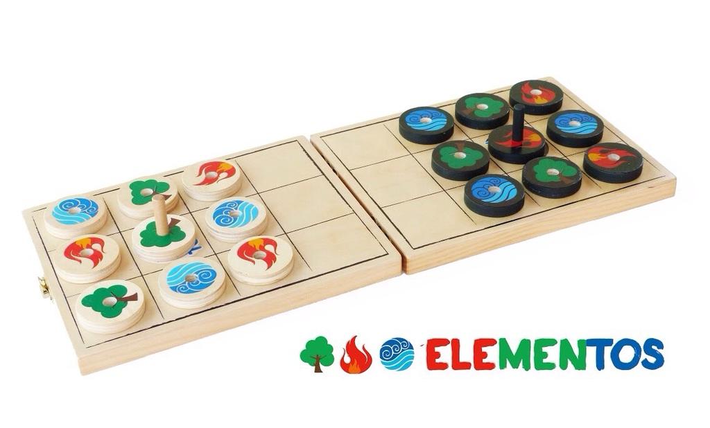 Elementos – Шах среща Камък-ножица-хартия