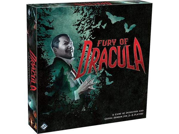 Fury of Dracula – дедукция до спукване!