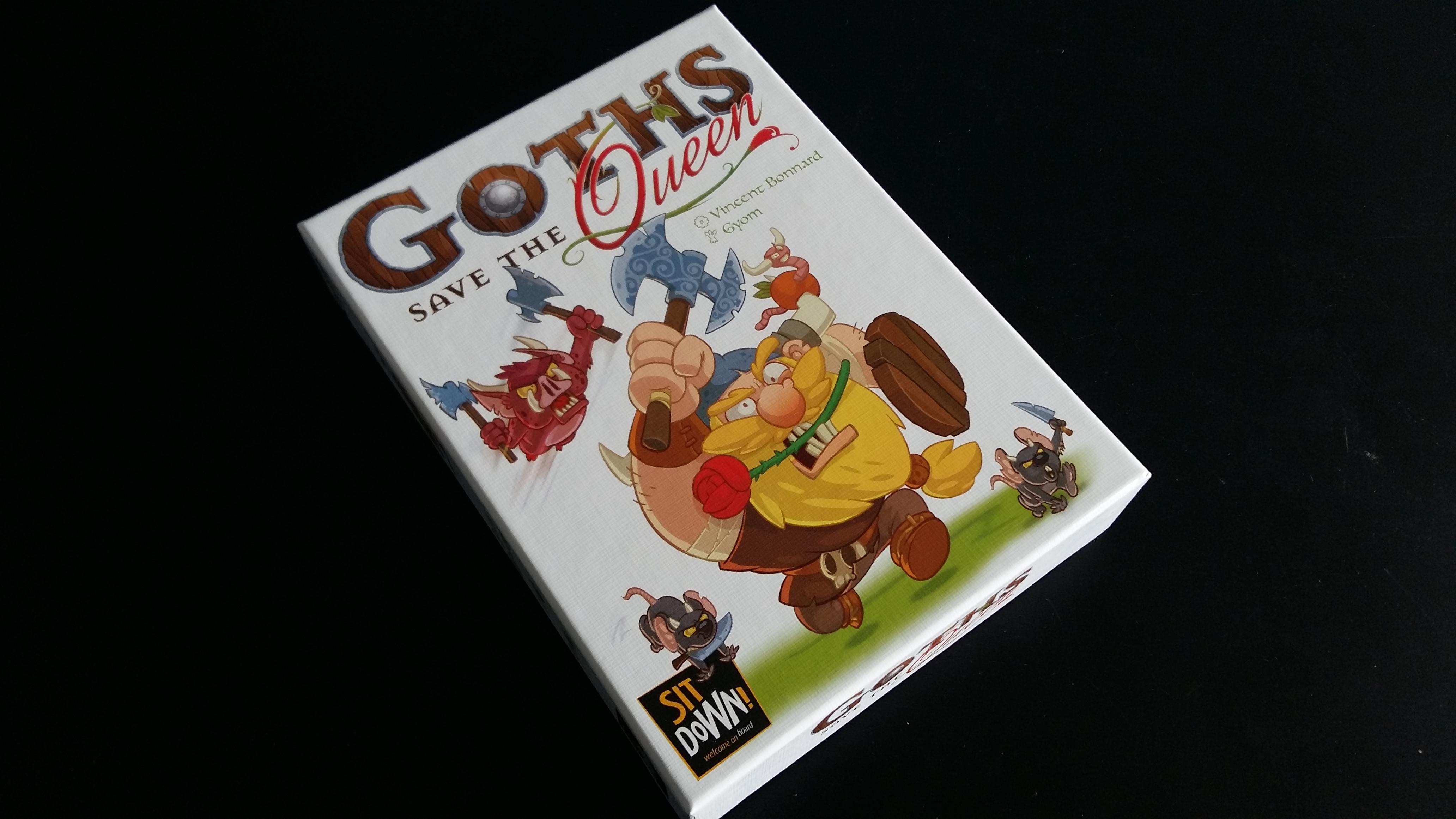 Goths Save the Queen – плъхове, брадви, прасета в катапулт и една твърде дебела кралица.