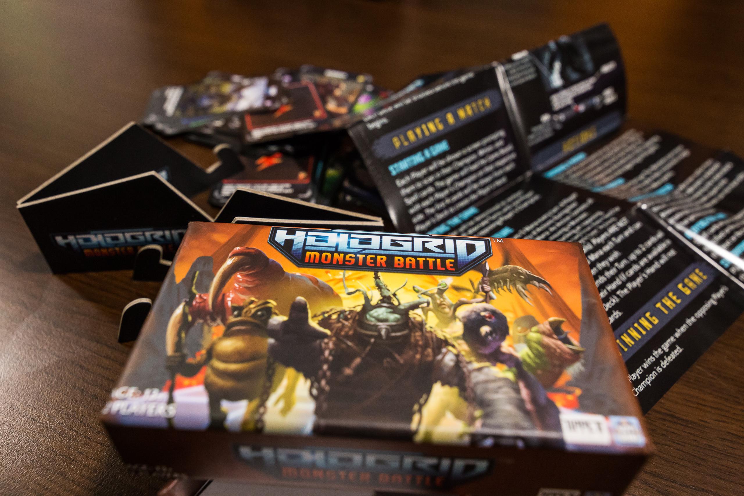 HoloGrid: Monster Battle™ – Какво общо има с настолните игри?