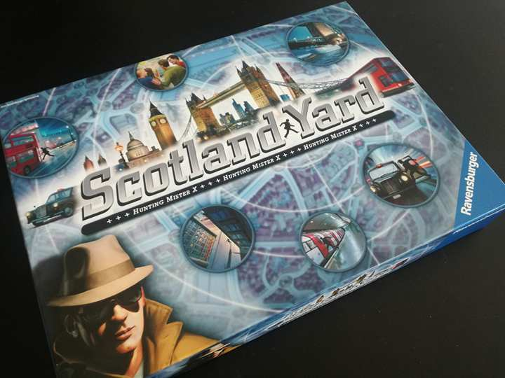 Scotland Yard – Модерна игра от преди 34 години!