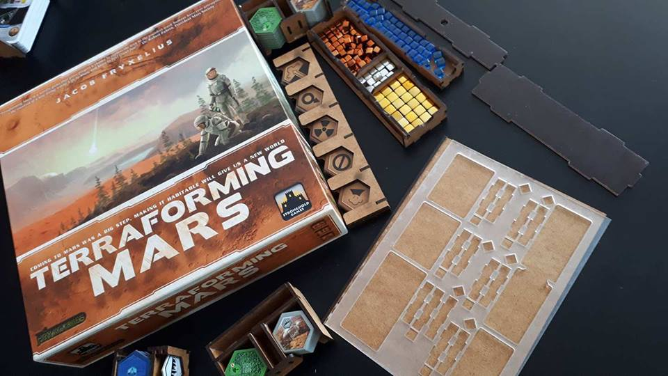 Ревю на аксесоар: Terraforming Mars Insert