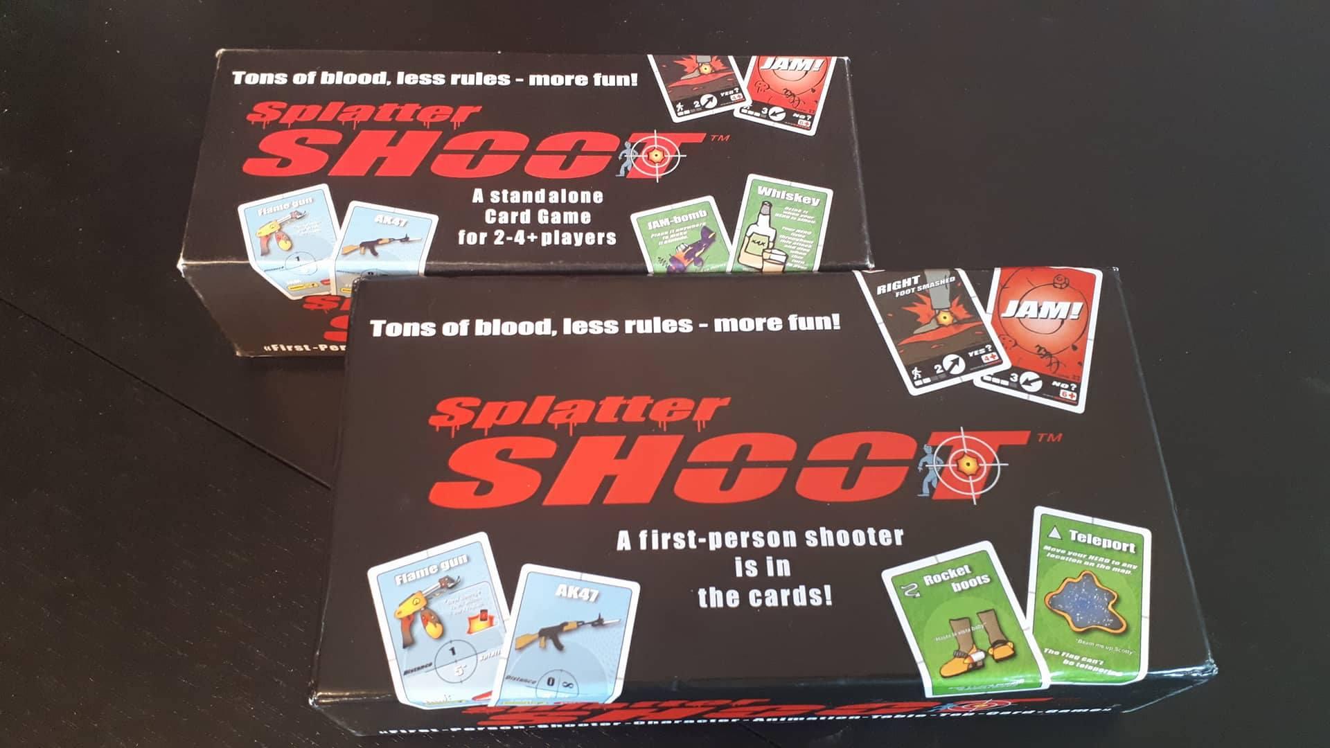 Splatter SHOOT Second Edition – Сравнително ревю на една от любимите ми игри