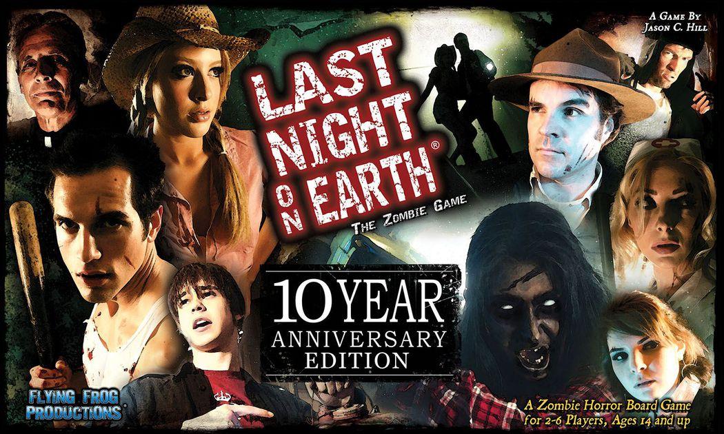 Отваряне на кутията: Last Night On Earth 10th Year Anniversary Edition