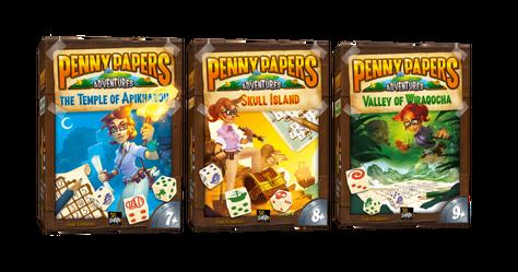 Penny Papers Adventures – Тройно ревю