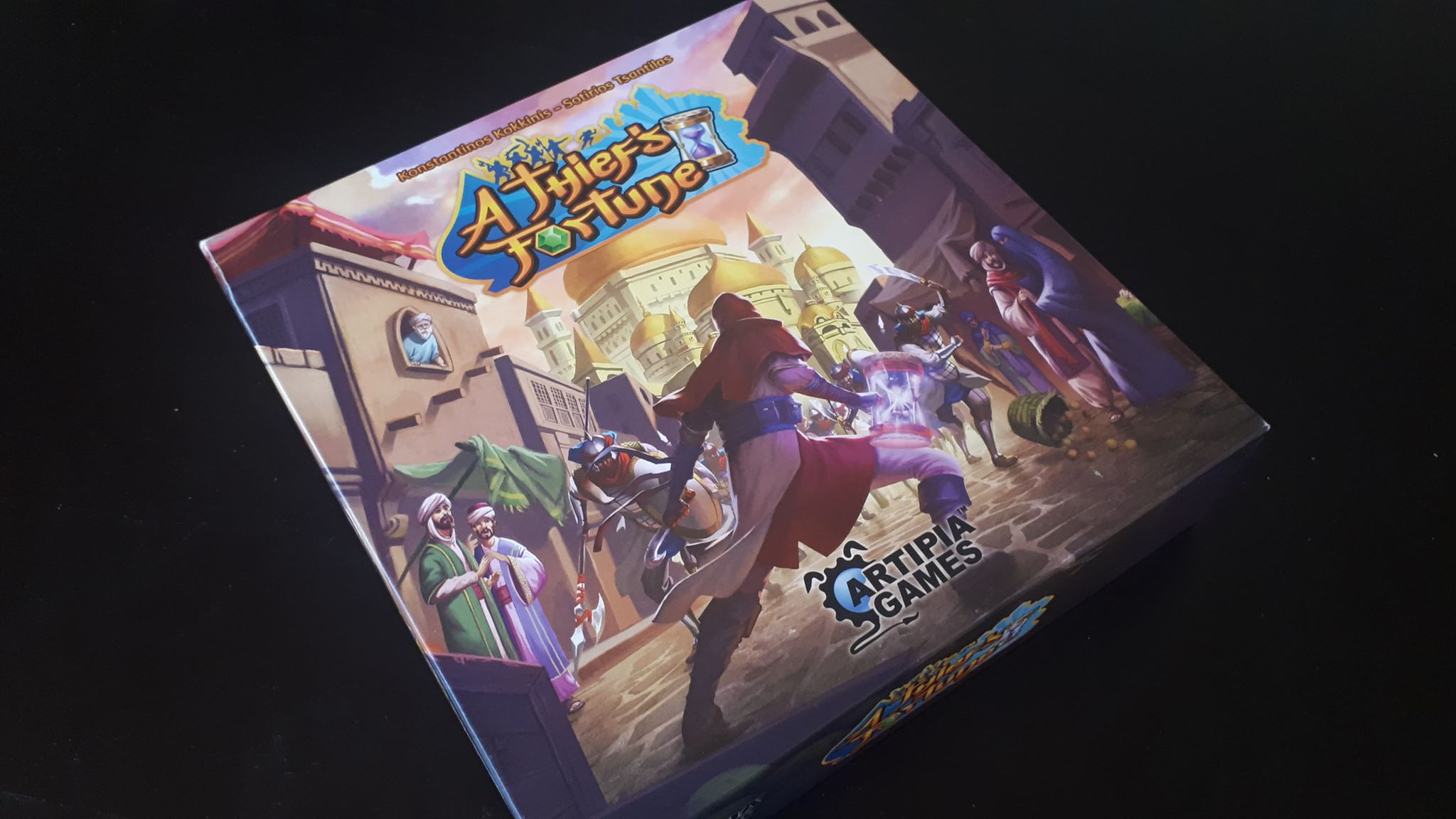 A Thief's Fortune – Трето поколение драфтинг игра
