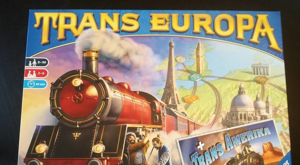Trans Europa & Trans America – Ravensburger Edition