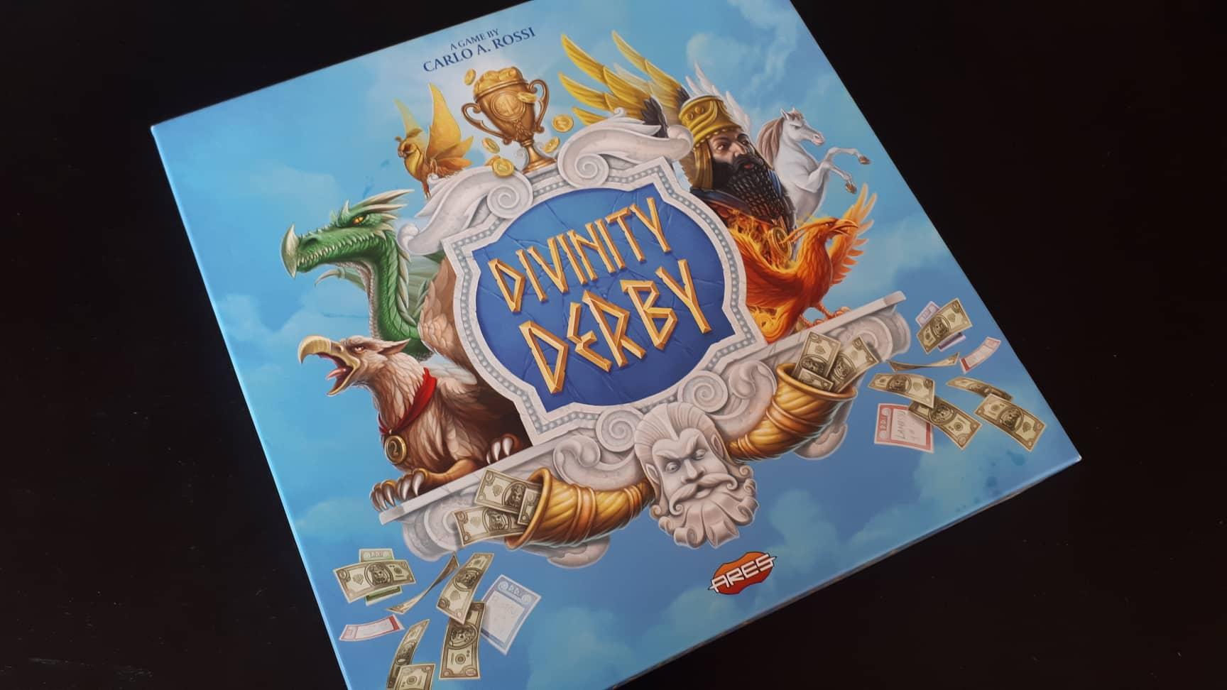 Divinity Derby – балансиран боженствен хазарт