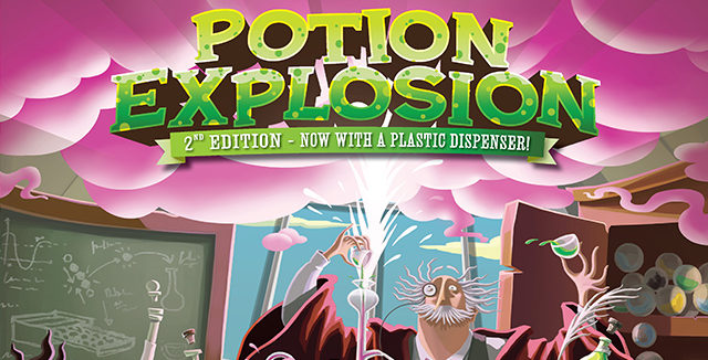 Potion Explosion 2nd Edition + The 6th Student Expansion – Яката работа!