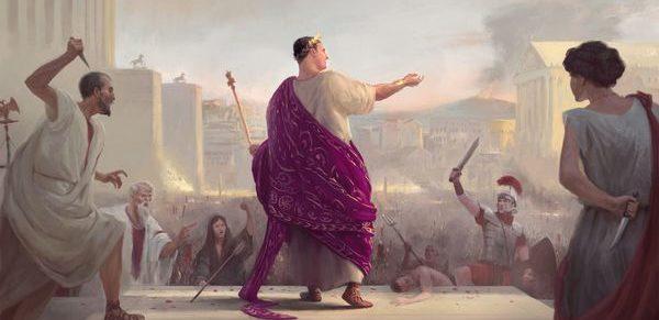 Donning The Purple – брутална игра за трима