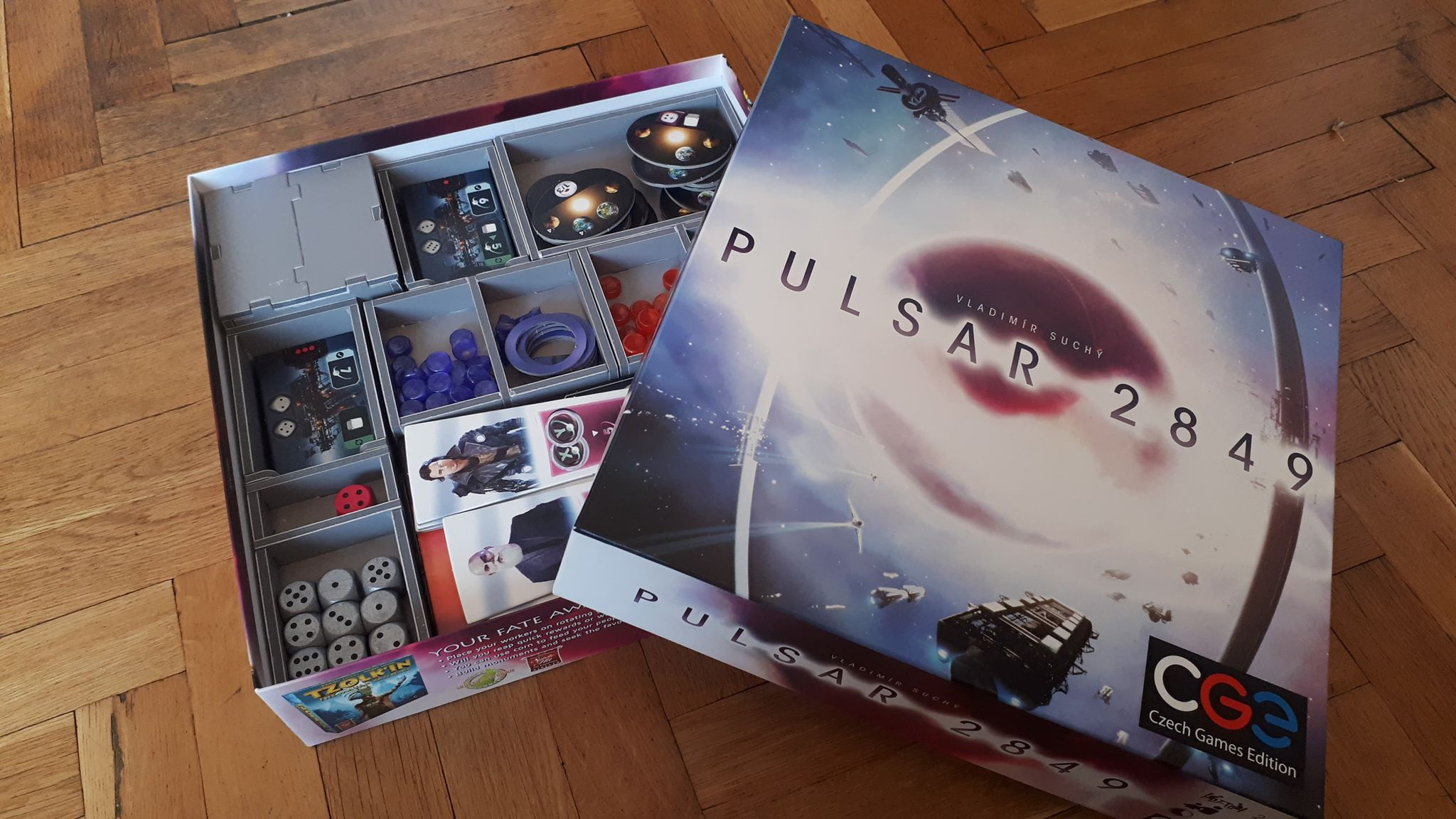 Folded Space – Pulsar 2849 Insert