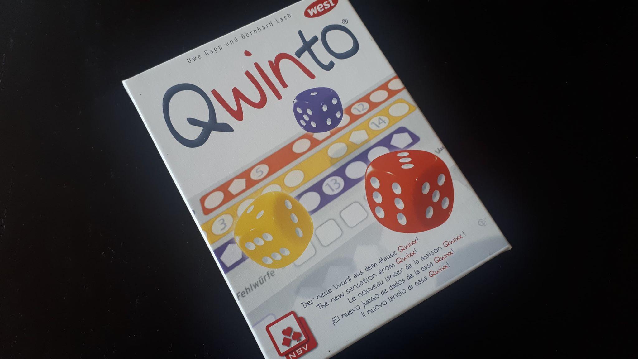 Qwinto – най-елегантната Roll and Write игра?