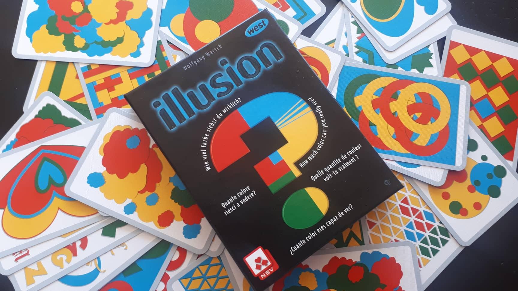 Illusion – Очевидно е бяла със златни ивици!