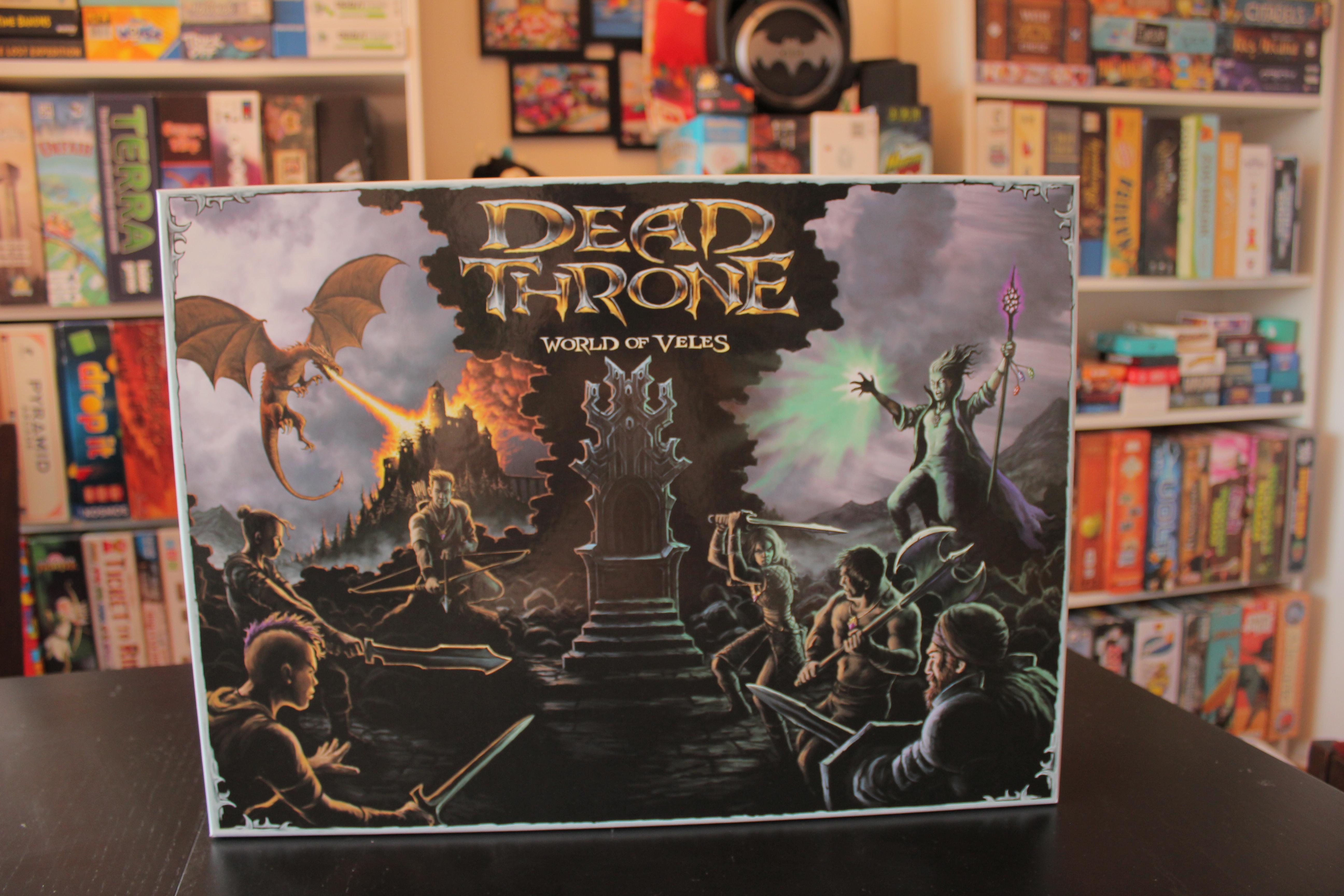 Dead Throne – Шантав звяр, носещ ретро усещане