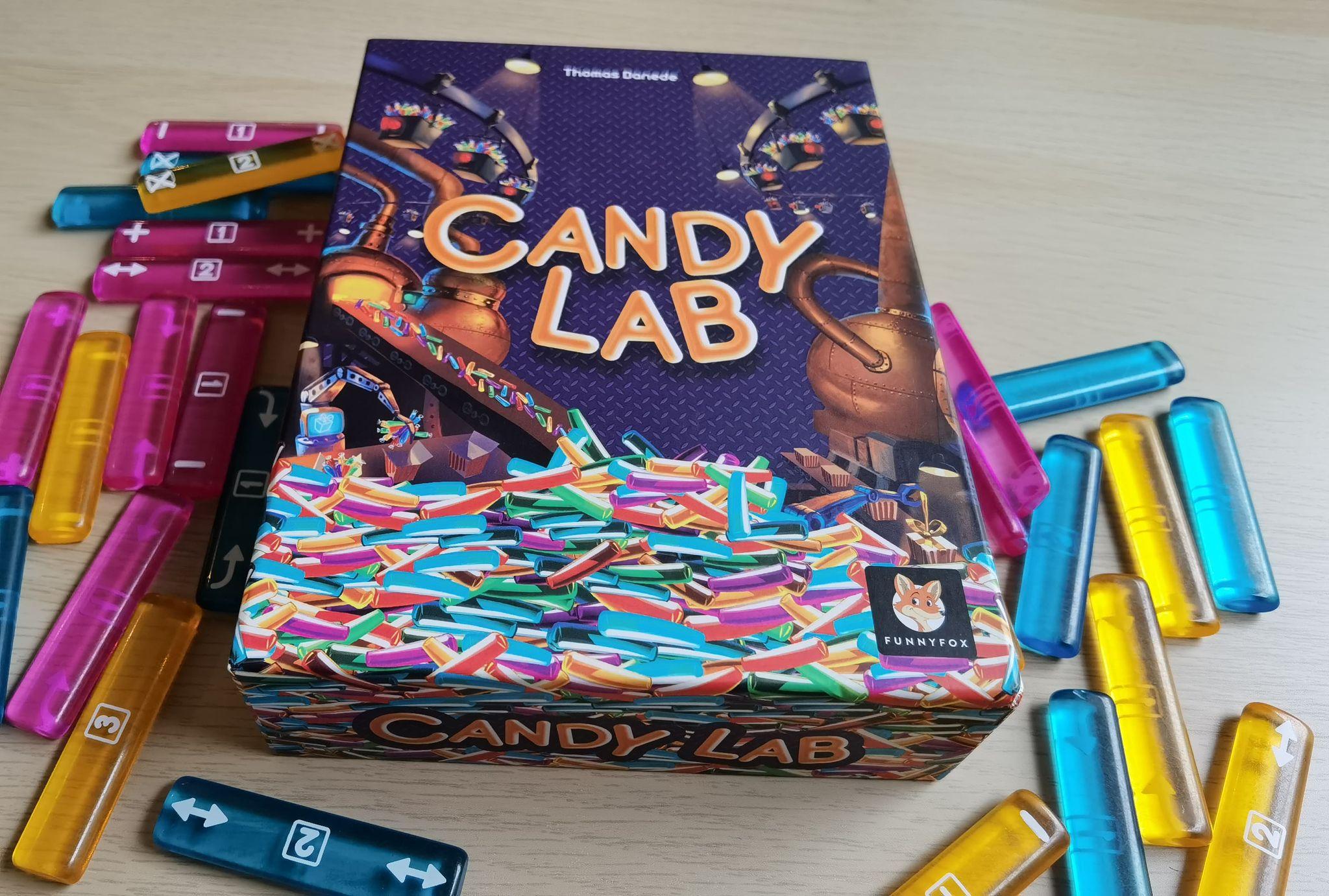 Candy Lab – Натикайте сладки в гърлото на (не)приятелите си!