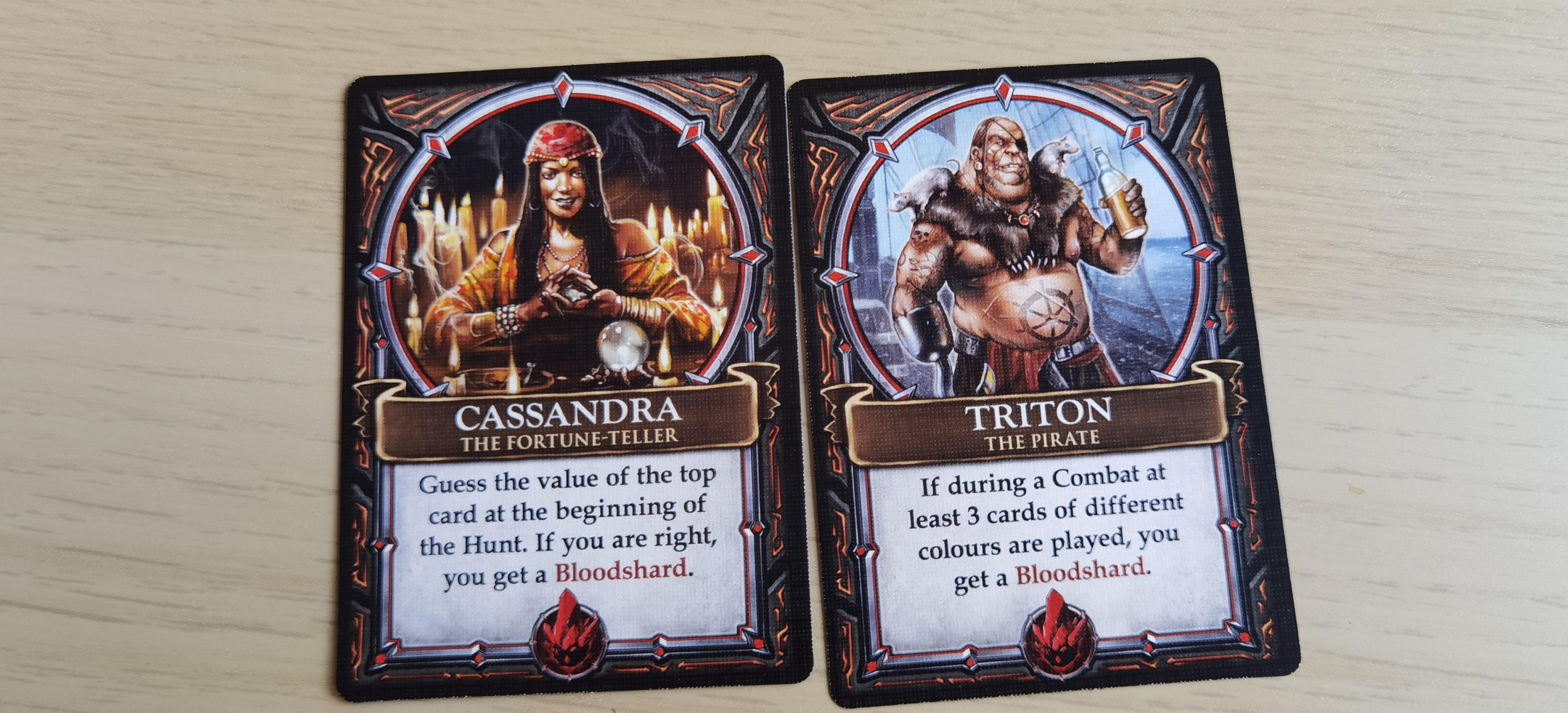 И двете карти разчитат на късмет, но втората е в пъти по-голям шанса да се случи.